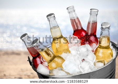 bucket o pop bottles #1183588129