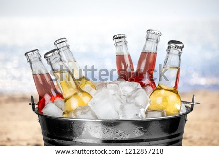 bucket o pop bottles #1212857218