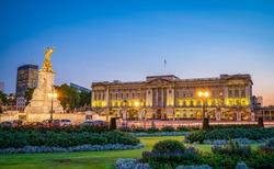 Buckingham Palace in London, United Kingdom