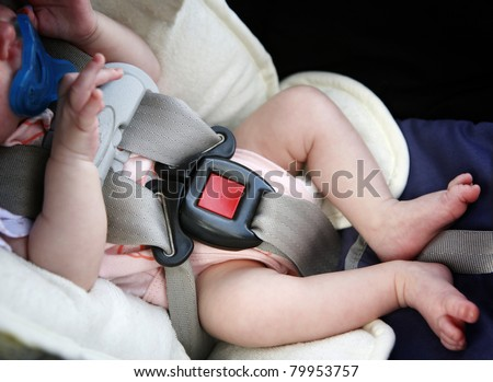 Buckle up! - stock photo
