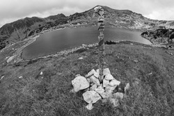 Bucura Lake, Retezat Mountains, Southern Carpathians, Romania