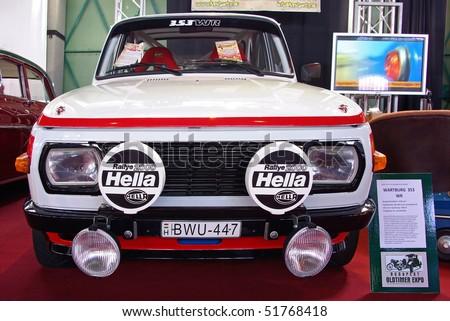 16: 1966's Wartburg 353 WR