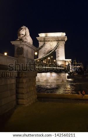 Budapest Chain Bridge, Budapest, Hungary