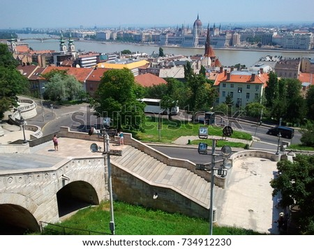 Budapest downtown