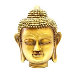 Buddha gold head