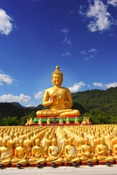 Buddha in Thailand A place of public worship.