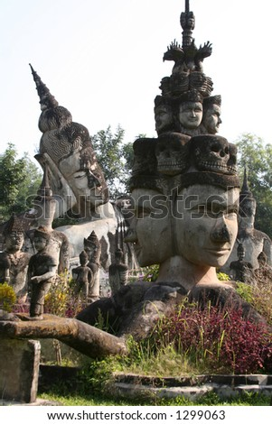 Buddha Park, Vientiane, Laos, Southeast Asia