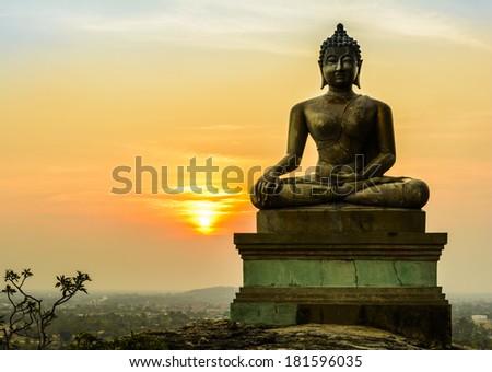 Buddha statue at Wat Phaputthachay Saraburi Thailand
