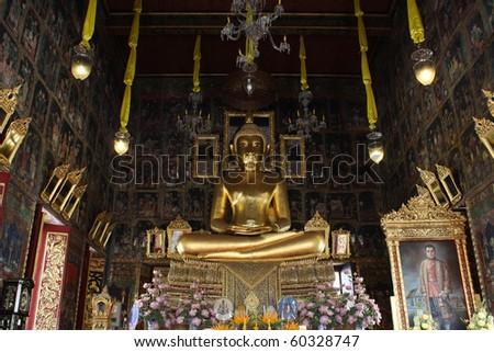 Buddha Statue in bangkok thailand