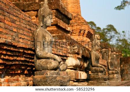 Buddha statue in Sukhothai