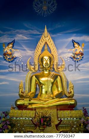 buddha statue in thai church