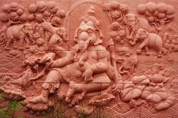 Buddha statue of Brahmanism in Thailand