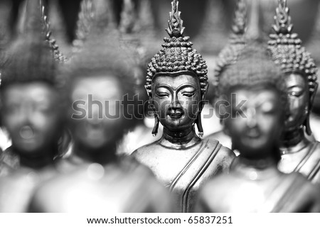 Buddha statues Face of buddha Thailand Asia