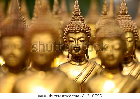 stock photo : buddha status