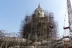 Buddha under construction