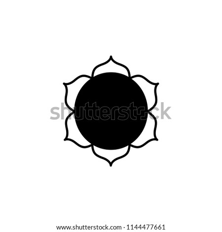Buddhism Lotus Flower Sign Icon Element Of Religion Sign Icon For
