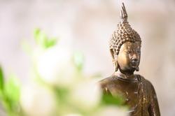 Buddhism statue, religion Buddhism. Vesak Day concept.