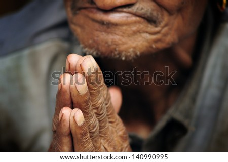 Buddhist hands 7