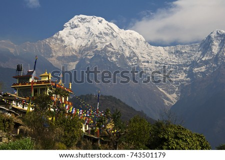 buddhist monastery in the...
