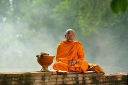 Buddhist monks ,Thailand
