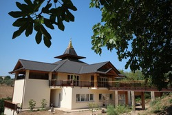 Buddhist Temple located on countryside of Italy,to practice Buddhist monasticism and its meditative practices, according to the normative standards of  Buddhism