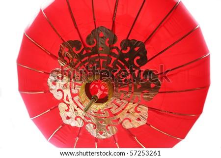 buddish decoration lantern closeup