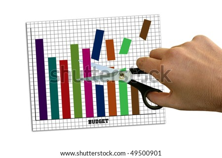 Budget cuts - stock photo