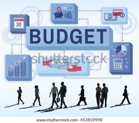 Budget Finance Money Income Investment Concept #453859990