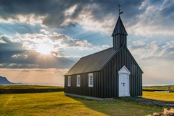 Budir church in Iceland