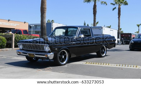 Buena Park Usa April 30 2017 Ford Ranchero On Display During