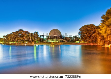 Buenos Aires Galileo Galilei planetarium building.