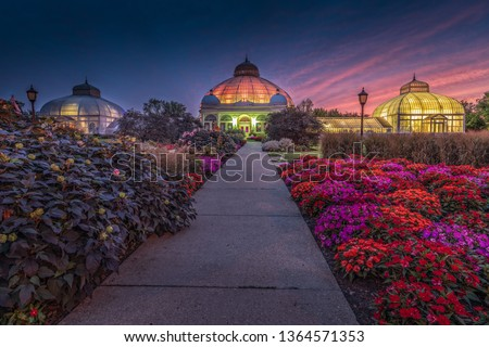 Buffalo and Erie County Botanical Gardens. The Buffalo and Erie County Botanical Gardens are botanical gardens located within South Park in Buffalo, New York, United States.  #1364571353