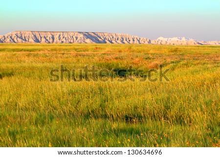 Buffalo Gap National Grassland ストックフォト ©