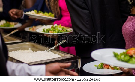Buffet Dinner and Formal Wear #1255224166