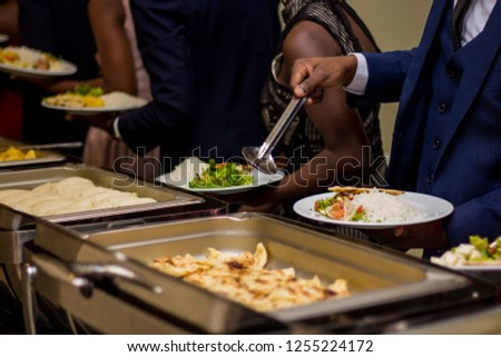 Buffet Dinner and Formal Wear #1255224172
