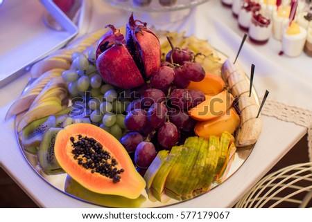buffet table #577179067