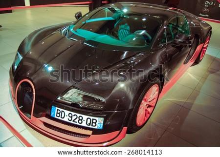 Bugatti Veyron Rembrandt.  Bugatti ART & PERFECTION.  Exhibition: \