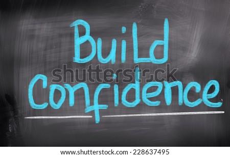 Build Confidence Concept