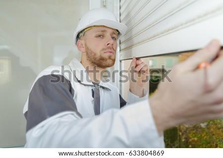builder mounting vertical blinds #633804869