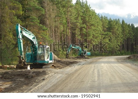 Building a new road