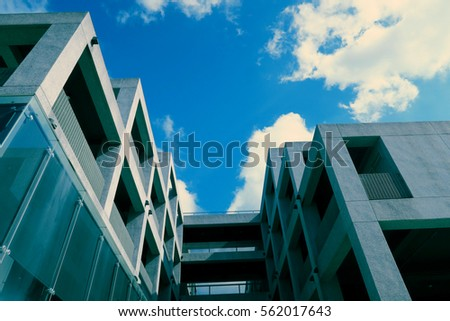building and blue sky #562017643