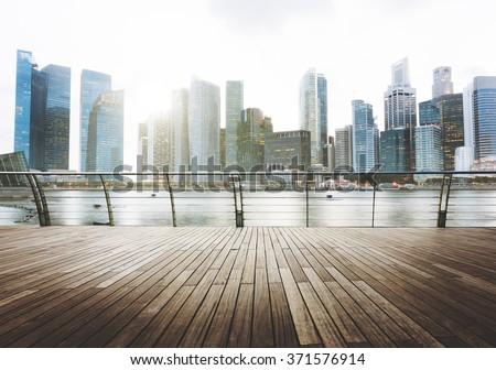 Building Business District City Architecture Office Concept