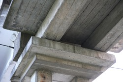 building construction - concrete and steel, bridge