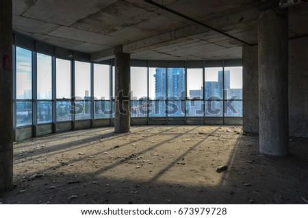building construction interior #673979728