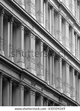 Building facade #630504269