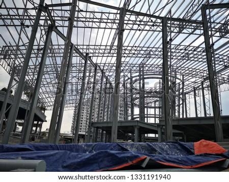 Building framework in construction