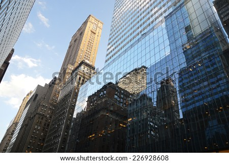 building in Manhattan - New-York - USA #226928608