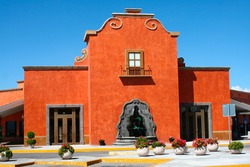 Building in Mexico