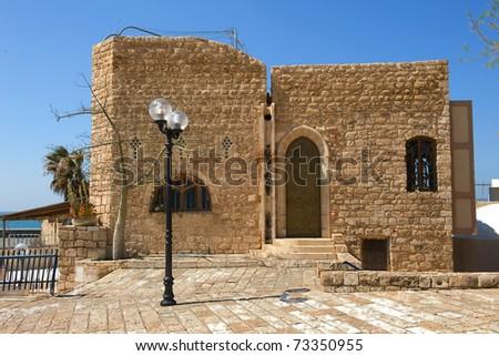 Building in old jaffa in Israel
