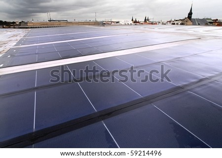 Building integrated photovoltaics - roofing